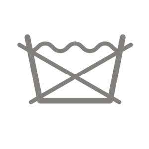 Symbol nicht in der Waschmaschine waschen