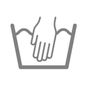 Wäschesymbol Handwäsche
