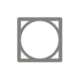 Symbol trocknen im Trockner ohne Temperatureinschränkung