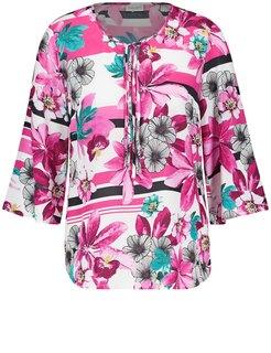 Tunika mit Blumenmuster detail 4058424595981 9255 - Bluse